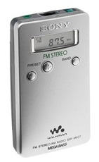Radio Digital Sony SRFM607 Silver