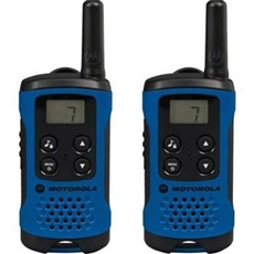 Pack De 2 Unidades Walkie Talkies Motorola T41 Azul