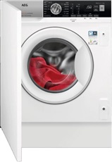 Aeg L7FEE841BI - Lavadora Integrable 8Kg 1400rpm 60Cm Clase A+++ Blanco