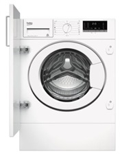 Beko WITV8612XW0 - Lavadora integrable de 8kg Clase A+++ 1200 rpm Display Digital