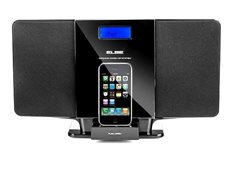 Elbe HIFI1024IP - Hifi CD/MP3 USB Iphone/Ipod Docking Pantalla LCD