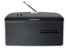 Grundig GRN 1510 - Radio Portátil FM/AM con Pilas y Red Color Negro