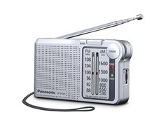 Panasonic RF-P150D - Radio AM/FM de Bolsillo Sintonizador Digital