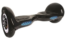 Patin Denver 10001BLACK Dos Motores Negro Luces Led Rueda 10""