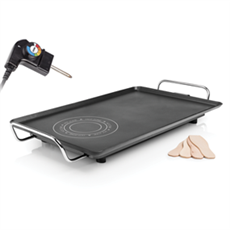 Princess 103051 - Plancha Chef Hot-zone XXL 36.3x69.5 cm 2500W