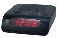 Radios Despetadores Denver CR419MK2 Doble Alarma Negro Display Led