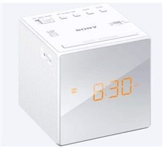 Sony ICF-C1 - Radio Despertador AM/FM con Pantalla LED Blanco