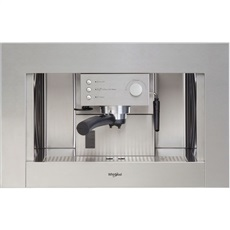 Whirlpool ACE010IX - Cafetera Integrable 2 Tazas Depósito 1.5 L Inox